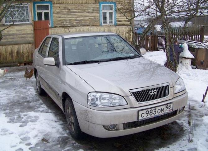 Отзыв владельца об автомобиле чери амулет 2007 года выпуска