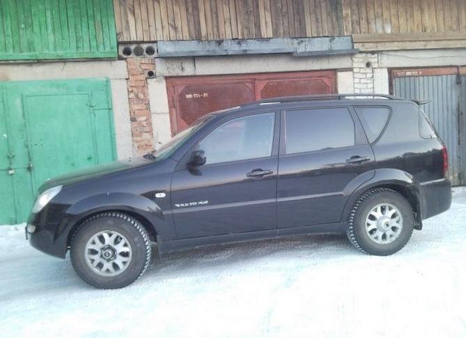 Отзыв владельца об автомобиле ssang yong rexton 320 4 wd