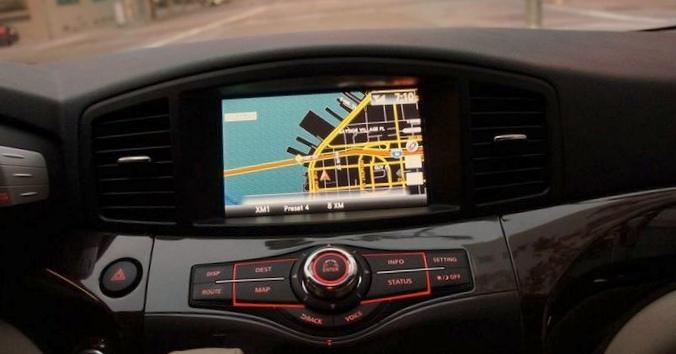 Первая автомобильная навигационная система