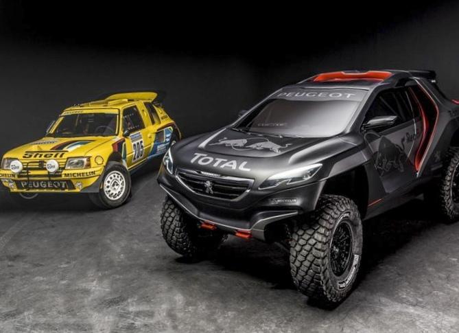 Peugeot вернётся в ралли дакар на заднем приводе