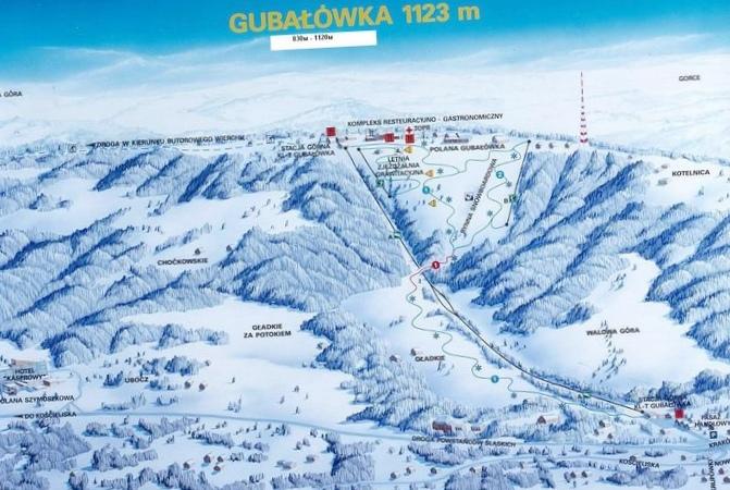 Поездка на горнолыжную трассу jaworzyna krynicka