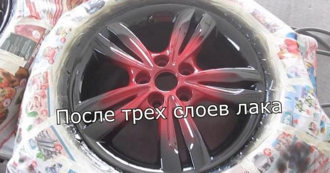 Покраска авто в два цвета с плавным переходом