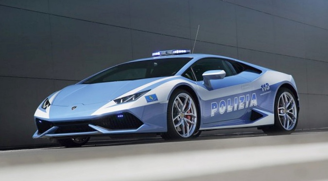 Полицейские машины: лучшие и худшие в мире