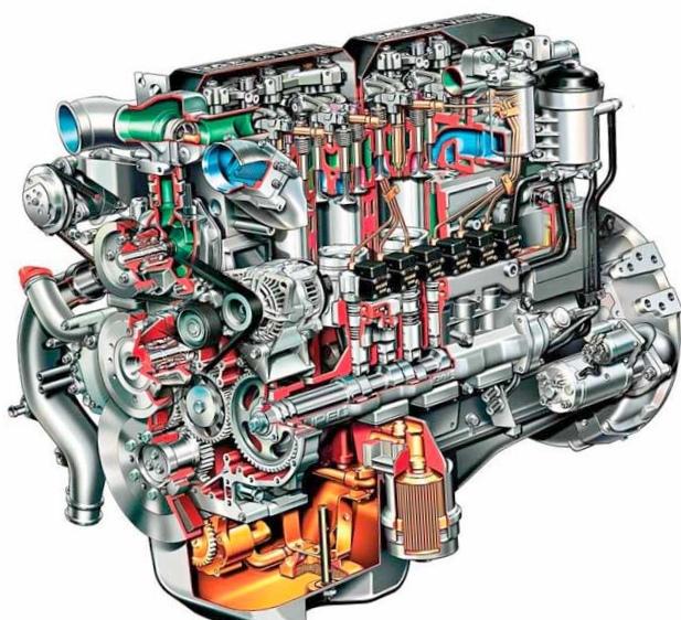Поршень двигателя внутреннего...