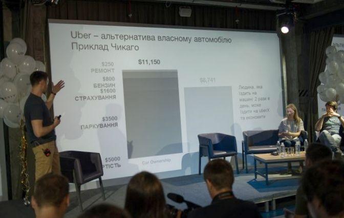 Посредник uber начал сбор заявок от водителей в украине
