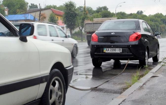 Правила и советы при буксировке автомобиля