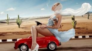 Прекрасным дамам за рулем посвящается