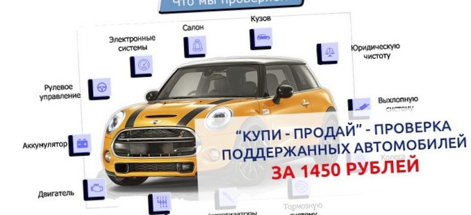 Проверка автомобиля из салона перед покупкой.