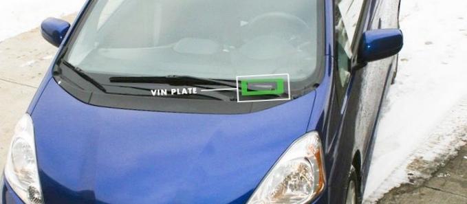 Расшифровка vin номера автомобиля