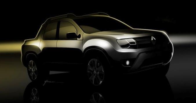 Renault интригует «дастер-пикапом» и «заряженным сандеро»