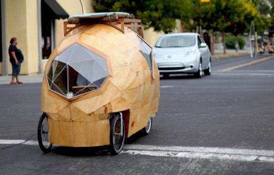 Рикша на батареях