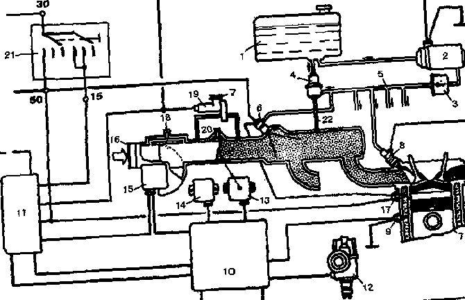 Система распределенного впрыска l-jetronic