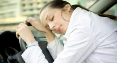 Спящая автомобилистка носилась на скорости 300 км/ч