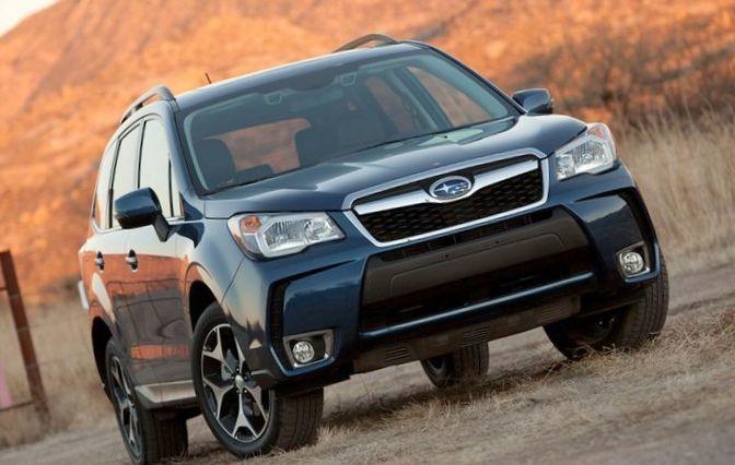 Subaru forester назван самым безопасным кроссовером