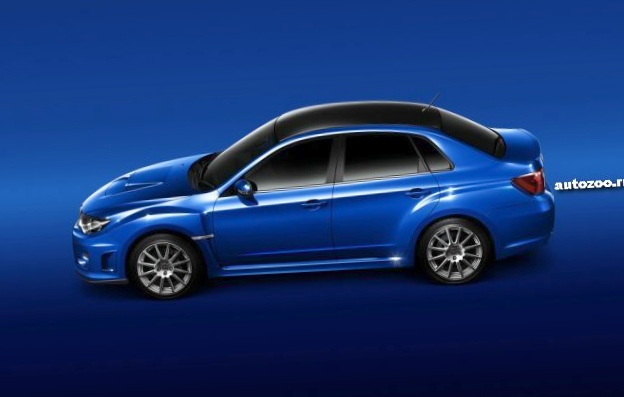 Subaru представила новую версию седана impreza wrx sti