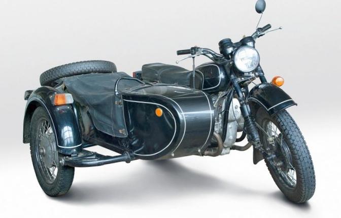 Тест-драйв мотоцикла кмз днепр-16...