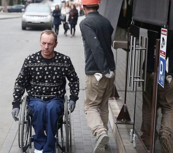 У инвалида-колясочника конфисковали...