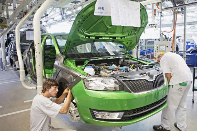 Украина занимает 37-ое место среди стран-автопроизводителей
