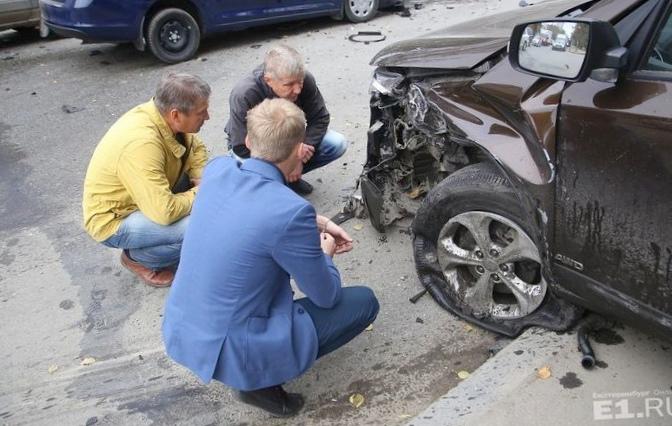 В состоянии шока. суд над водителем...