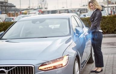 Volvo сделает автомобили без ключей