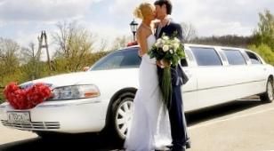 Выбираем лимузин для свадебного кортежа