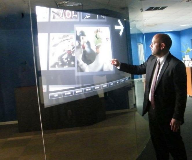 Выставка интерактивных проекций