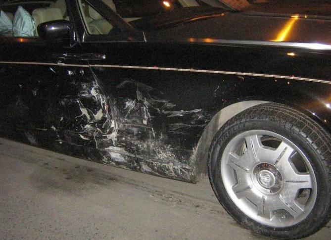 Взял машину у друга и попал в катастрофу ,авто, ремонт