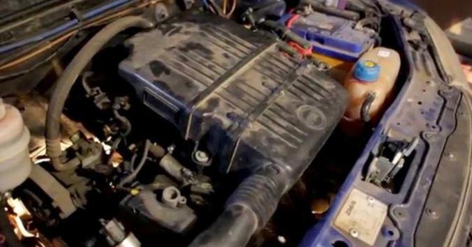 Замена масла в двигателе фиат альбеа видео