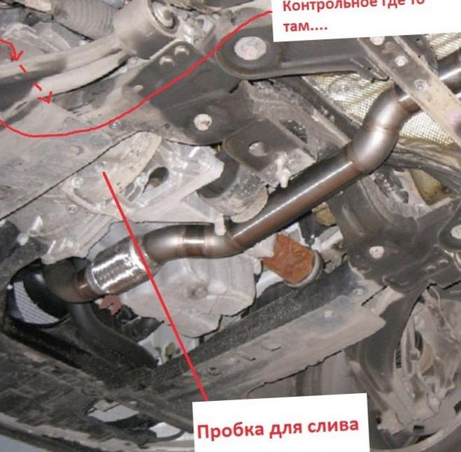 Замена масла в двигателе опель мерива своими руками 65